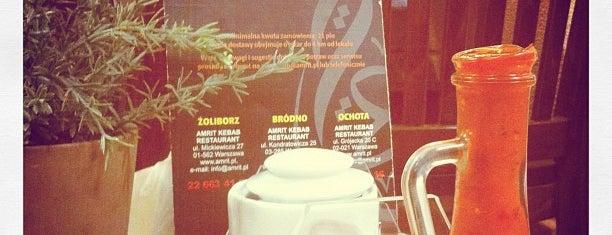 Amrit Kebab is one of faenza.