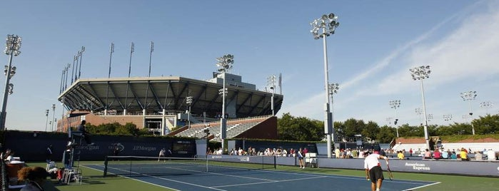 Court 8 - USTA Billie Jean King National Tennis Center is one of US Open Courts.
