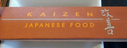 Kaizen Japanese Food 改善 is one of Japanese Restaurants in Campinas, SP.