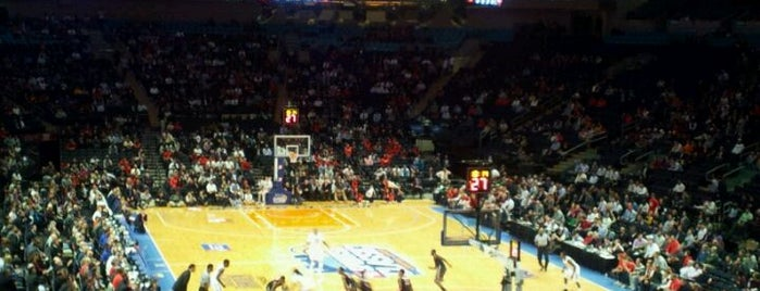 Madison Square Garden is one of Fun Places in NYC Metro-Area.