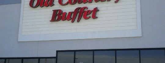 Old Country Buffet is one of Paulina's Liked Places.