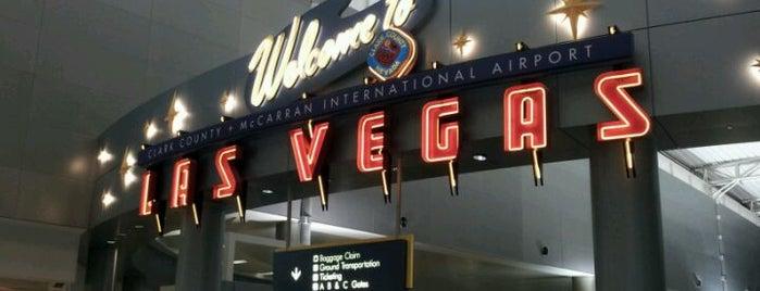 매캐런 국제공항 (LAS) is one of Airports I've Pee'd In.