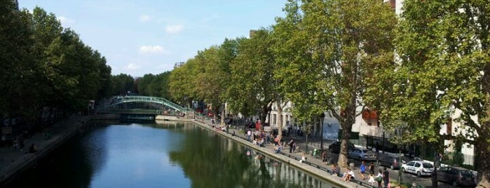Canal Saint-Martin is one of Best happy hours all over the world.