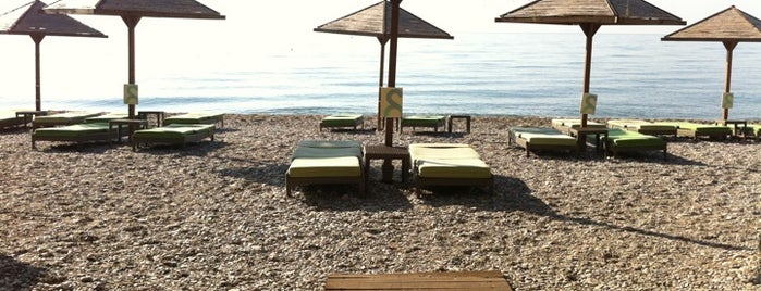 Pythagorio Beach is one of Samos.
