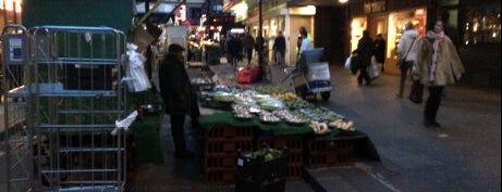 Berwick Street Market is one of London, somewhat....