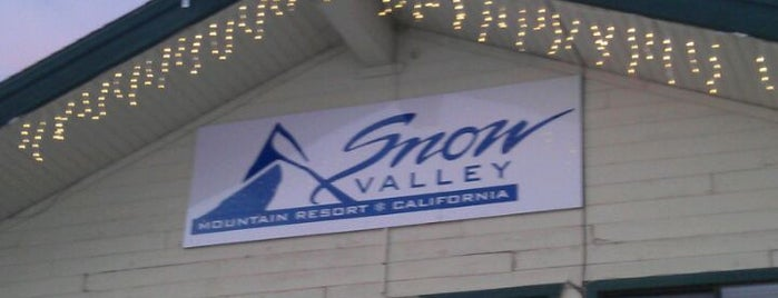 Snow Valley Mountain Resort is one of Big Bear Lake (Anti-Zombie Survival).