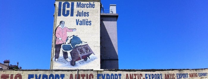 Marché Jules Vallès is one of Flea markets of the world.