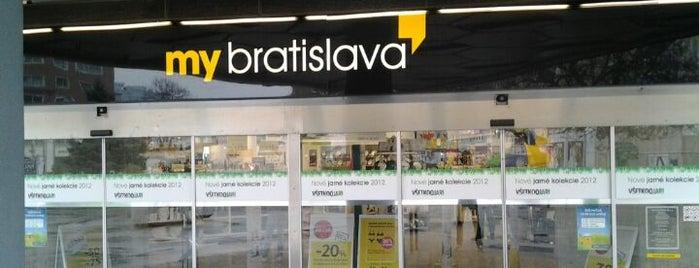 My Bratislava (Tesco) is one of Lieux qui ont plu à Martin.