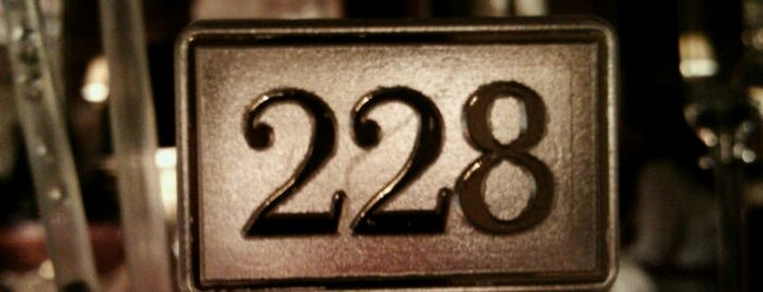 Bar 228 is one of Paris Bars.