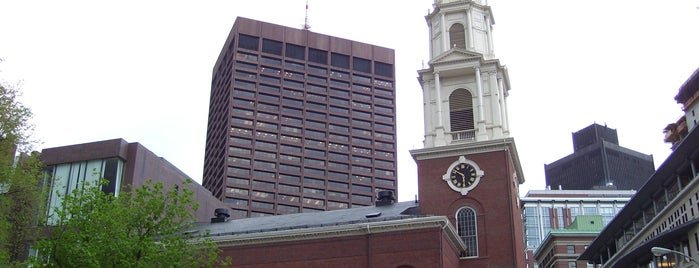 Park Street Church is one of Boston Freedom Trail Tour.