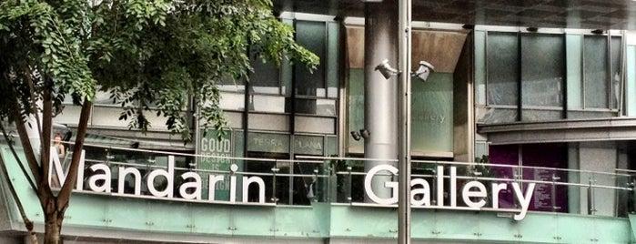 Mandarin Gallery is one of Singapore.