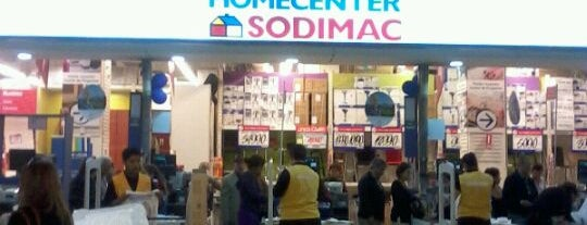 Homecenter Sodimac is one of Tempat yang Disukai Juan Pablo.