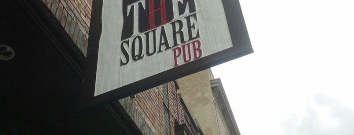 The Square Pub is one of ATL.