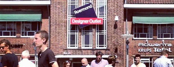 Designer Outlet Roermond is one of Outlets Europe.