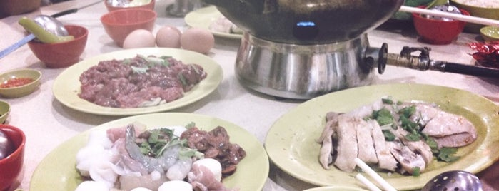 Golden Mile Thien Kee Steamboat Restaurant is one of Food in Singapore!.
