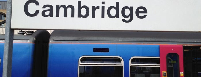 Cambridge Railway Station (CBG) is one of You calling me a train spotter?.