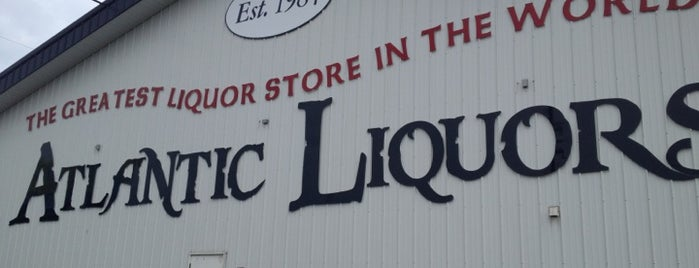 Atlantic Liquors is one of Best of the Beach / Bay.