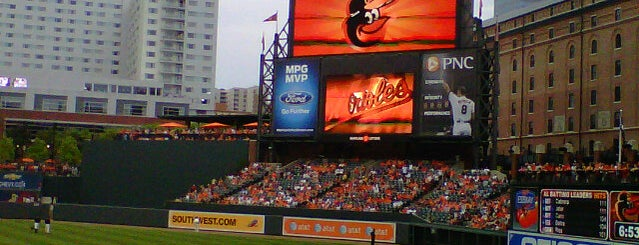 Oriole Park at Camden Yards is one of Baltimore, MD.