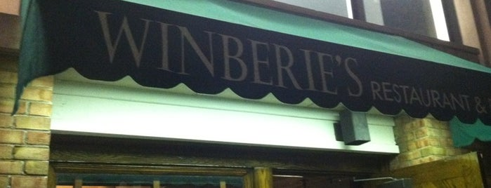 Winberie's Restaurant & Bar is one of Lugares guardados de Lizzie.
