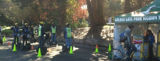 Golden Gate Park Segway Tours is one of to-do in sf.