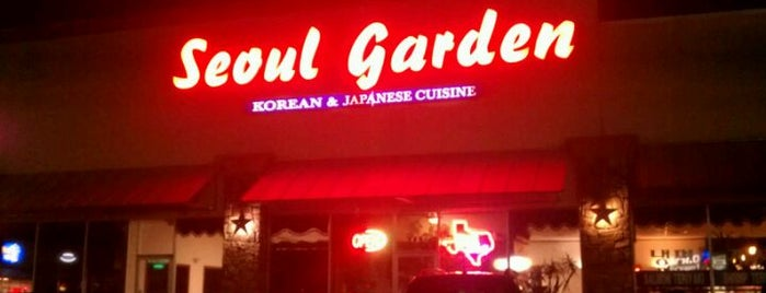 Seoul Garden is one of TX.