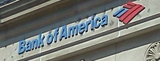 Bank of America is one of B David 님이 좋아한 장소.