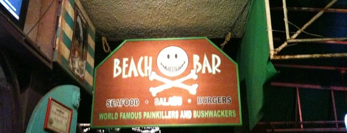 Beach Bar is one of St John.