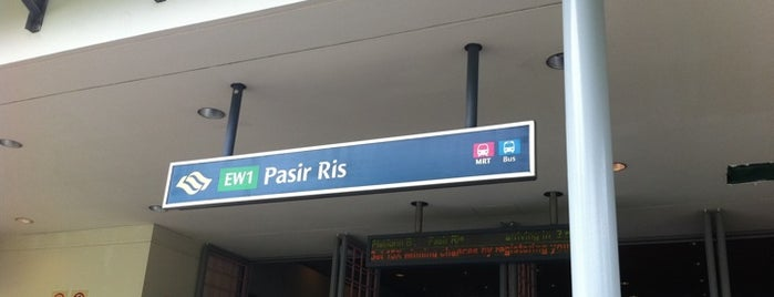 Pasir Ris MRT Station (EW1) is one of MAC 님이 좋아한 장소.