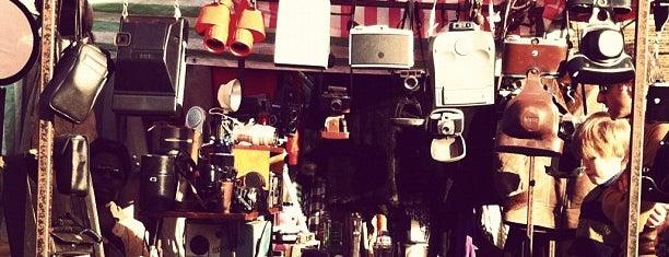 Netil Market is one of Hackney, London.