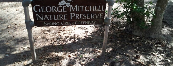 George Mitchell Nature Reserve is one of Places To Visit In Houston.