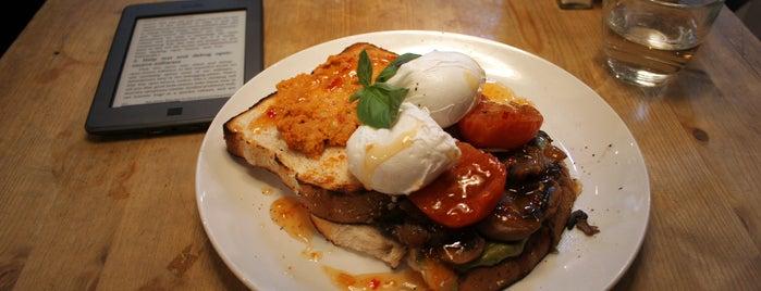 Bill's Restaurant is one of London's best breakfasts.