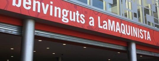 C.C. La Maquinista is one of Shop till you drop!.