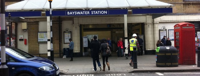 Bayswater London Underground Station is one of Stuff I want to see and redo in London.