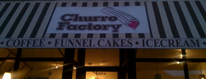 Churro Factory is one of Gespeicherte Orte von Nikkia J.
