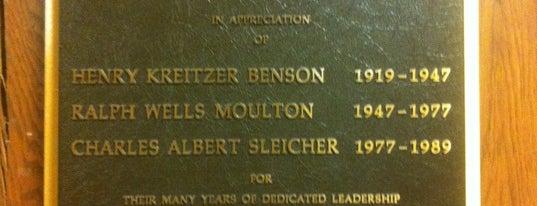 UW: Benson Hall is one of Lugares favoritos de CB.