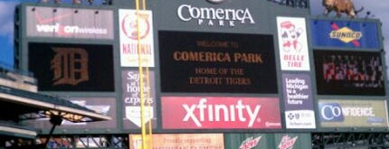 Comerica Park is one of MLB Baseball Stadiums.
