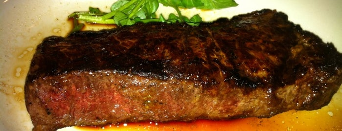 Morton's The Steakhouse is one of Al's Best H-Town Eats.
