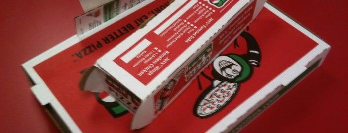 Jet's Pizza is one of Orte, die Lindsay gefallen.