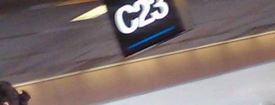 Gate C23 is one of Know the Code, Protect the Moment.