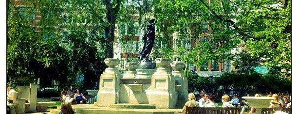 Smithfield Rotunda Garden is one of Lieux sauvegardés par Luke 🍺.