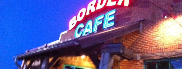 Border Cafe is one of Locais salvos de Kapil.