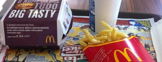 McDonald's is one of Piracicaba.