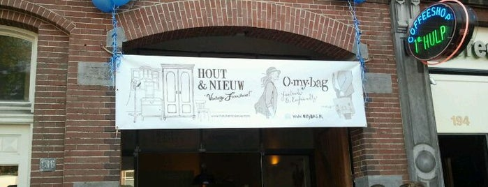 Hout & Nieuw is one of My favorites in Amsterdam.