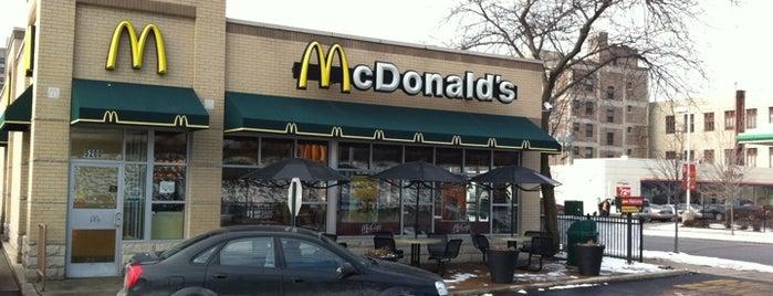 McDonald's is one of Restaurants I've been to.