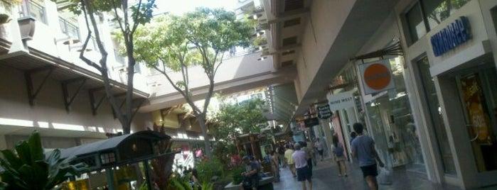 Ala Moana Center is one of My Favorite Oahu.