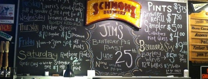Schmohz Brewing Co. is one of Michigan Breweries.