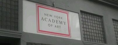 New York Academy of Art is one of New York New York.