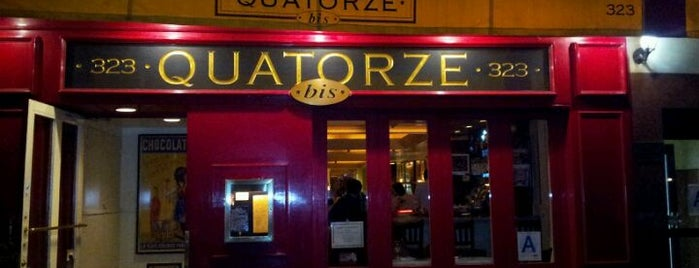 Quatorze Bis is one of Restaurants.