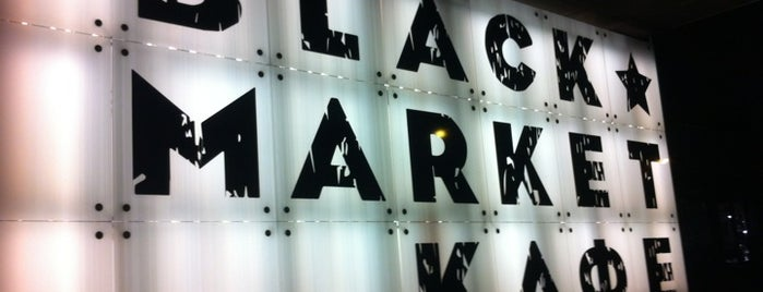 Black Market is one of moscow restplace.