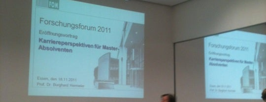 FOM Hochschule für Oekonomie & Management - Hörsaalzentrum II is one of Berufliches.